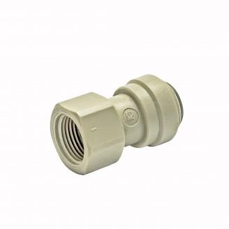 John Guest Adaptor G 3/8 M X 3/8 Push fit