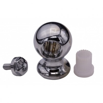 Corinthian Ball  - Chrome