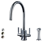 Triflow Churchill C Spout with Rinse