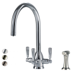 Triflow Whitehall C Spout with Rinse