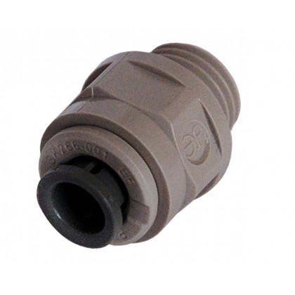 "John Guest Adaptor G1/4"" M1/4"" for Green Tube"