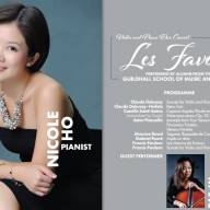 Triflow to Sponsor LES FAVORIS - Violin and Piano duo concert